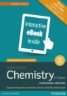 Pearson Baccalaureate Chemistry Higher Level 2nd edition ebook only edition (etext) for the IB Diploma - Book