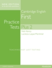 Cambridge First Volume 2 Practice Tests Plus New Edition Students' Book with Key - Book
