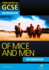 Of Mice and Men: York Notes for GCSE Workbook (Grades A*-G) - Book