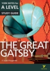 The Great Gatsby: York Notes for A-level - Book