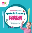 Quick and Easy Toddler Recipes - eBook