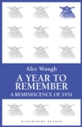 A Year to Remember : A Reminiscence of 1931 - eBook