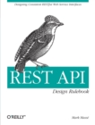 REST API Design Rulebook - Book