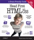 Head First HTML and CSS : A Learner's Guide to Creating Standards-Based Web Pages - eBook