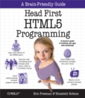 Head First HTML5 Programming : Building Web Apps with JavaScript - eBook