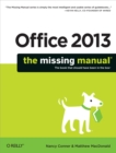 Office 2013: The Missing Manual - eBook