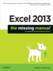 Excel 2013: The Missing Manual - eBook