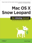 Mac OS X Snow Leopard: The Missing Manual : The Missing Manual - eBook