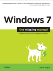 Windows 7: The Missing Manual - eBook