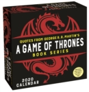 Quotes from George R. R. Martin's Game of Thrones Book Series 2020 Day-to-Day Calendar - Book