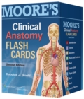 Moore's Clinical Anatomy Flash Cards - Book