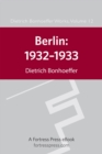 Berling 1932-1933 DBW Vol 12 - eBook
