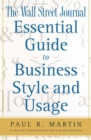 The Wall Street Journal Essential Guide to Business St - eBook