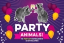 Party Animals! Pop up Notecard Collection : 10 Pop-Up Notecards & Envelopes - Book
