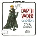 2018 Wall Calendar: Star Wars Darth Vader and Son - Book