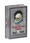 Great Shakespearean Deaths Card Game - Book