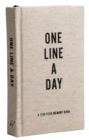 Canvas One Line a Day : A Five-Year Memory Book - Book