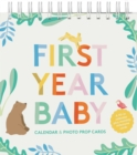 First Year Baby Calendar & Photo Prop Cards - Book