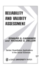 Reliability and Validity Assessment - eBook