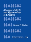 Attention Deficits and Hyperactivity in Children - eBook