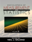 Encyclopedia of Measurement and Statistics - eBook