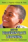 How to Differentiate Learning : Curriculum, Instruction, Assessment - eBook