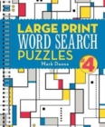 Large Print Word Search Puzzles - Book