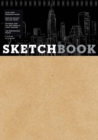 Sketchbook (basic medium spiral fliptop landscape Kraft) - Book