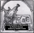A Critical Edition of Menaphon - eBook