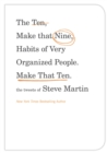 The Ten, Make That Nine, Habits of Very Organized People. Make That Ten. : The Tweets of Steve Martin - eBook