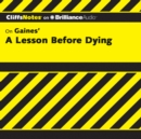 A Lesson Before Dying - eAudiobook