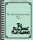 The Real Christmas Book Play-Along, Vol. N-Y - Book