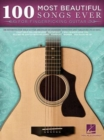 100 Most Beautiful Songs Ever : For Fingerpicking Guitar - Book