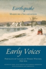 Earthquake : Early Voices - Portraits of Canada by Women Writers, 1639-1914 - eBook