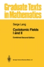 Cyclotomic Fields I and II - eBook