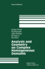 Analysis and Geometry on Complex Homogeneous Domains - eBook