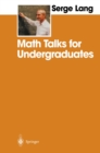 Math Talks for Undergraduates - eBook