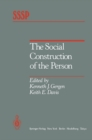 The Social Construction of the Person - eBook
