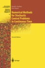 Numerical Methods for Stochastic Control Problems in Continuous Time - eBook