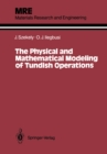 The Physical and Mathematical Modeling of Tundish Operations - eBook