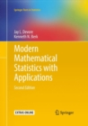 Modern Mathematical Statistics with Applications - Book