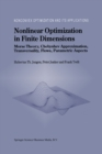 Nonlinear Optimization in Finite Dimensions : Morse Theory, Chebyshev Approximation, Transversality, Flows, Parametric Aspects - eBook