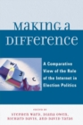 Making a Difference : A Comparative View of the Role of the Internet in Election Politics - eBook