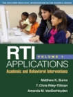 RTI Applications, Volume 1 : Academic and Behavioral Interventions - eBook