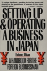 Setting Up & Operating a Business in Japan - eBook