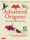 Advanced Origami : An Artist's Guide to Performances in Paper: Origami Book with 15 Challenging Projects - eBook