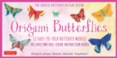 Origami Butterflies Ebook : Full-Color Origami Book with 12 Fun Projects and Downloadable Instructional Video: Great for Both Kids and Adults - eBook