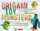 Origami Toy Monsters Kit Ebook : Easy-To-Assemble Paper Toys That Shudder, Shake, Lurch and Amaze!: Includes Origami Book with 11 Fun Projects - eBook