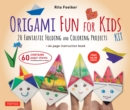 Origami Fun for Kids Ebook : 20 Fantastic Folding and Coloring Projects: Origami Book, Fun & Easy Projects, and Downloadable Instructional Video - eBook