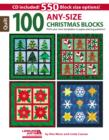 100 Any-Size Christmas Blocks : Print Your Own Templates or Paper-Piecing Patterns! - Book
